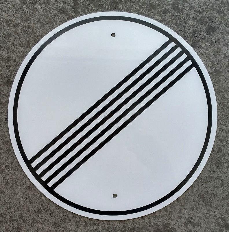 "Full Size Autobahn ""No Speed Limit"" Sign – Autobahn Signs Autobahn Sign"